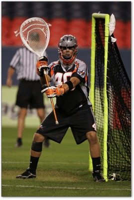 TrevorTierney Denver Outlaws lacrosse lax