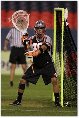 TrevorTierney Denver Outlaws lacrosse lax