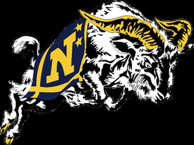 navy lacrosse logo