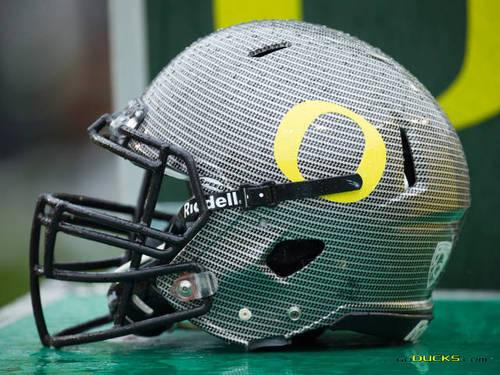 Oregon Feootball Helmet