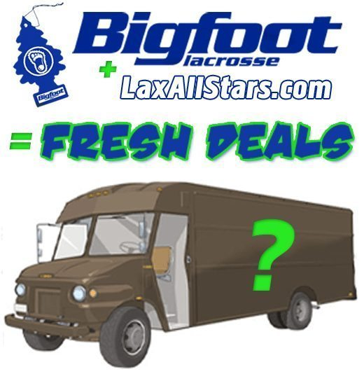 Bigfoot Lacrosse Lax All Stars deal