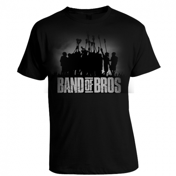 """""""Band of Bros"""" lacrosse t-shirt"""