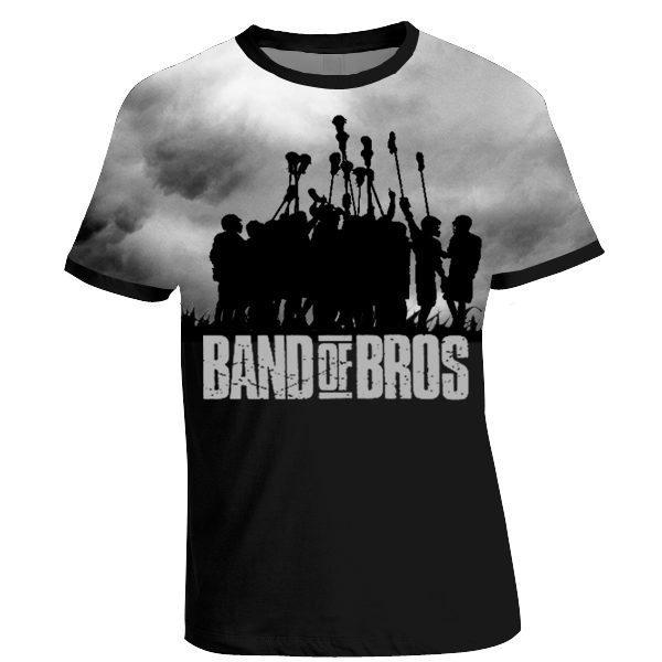 """""""Band of Bros"""" lax t-shirt"""