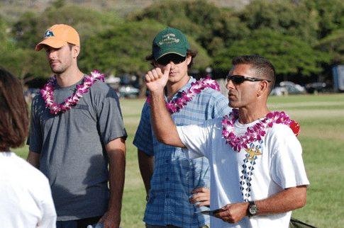 Ponahou Lacrosse Hawaii Coach Durso