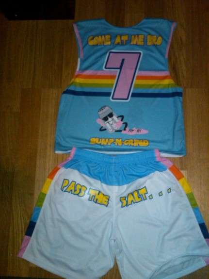 Salt SHakerz Lacrosse uniforms Miami B&G 2011