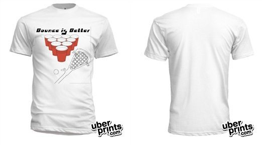 """""""Bounce is Better"""" lax t-shirt"""