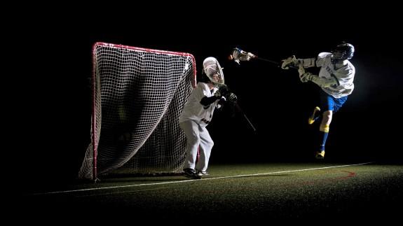 diving lax picture lacrosse Germany Marburg Saints goalie save goal lacrosse