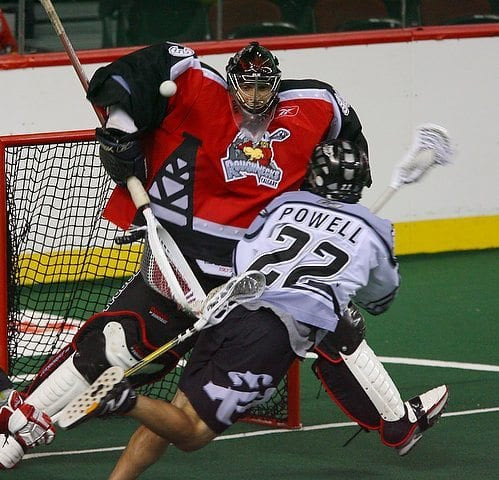 Ryan Powell Edmonton Rush Boston Blazers NLL Lacrosse Lax