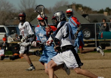 STM clearing the ball against Rummel