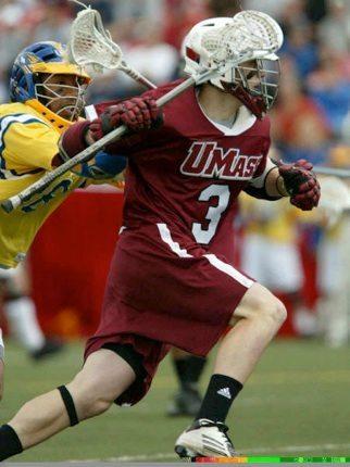 Brett Garber Umass Lacrosse lax