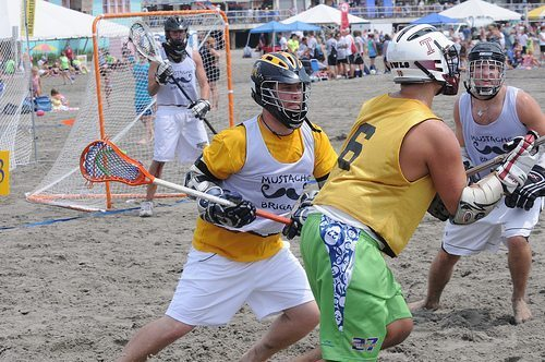 BeaCH lacrosse new jersey wildwood