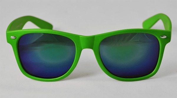 Wayfarer Sunglasses Green Premiums