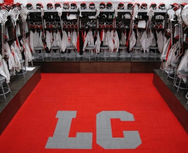 Lynchburg College Lacrosse Locker Room Lax