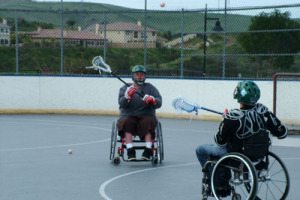 Wheelchair Lacrosse