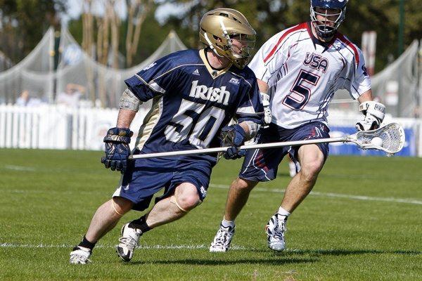 USa versus Notre Dame lax lacrosse