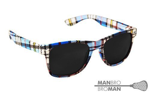 Man-Bro Bro-Man Plaid Sunglasses