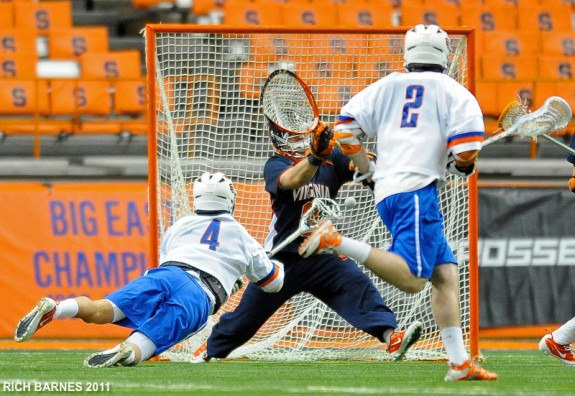Jeremy Thomspon Syracuse lacrosse lax.com