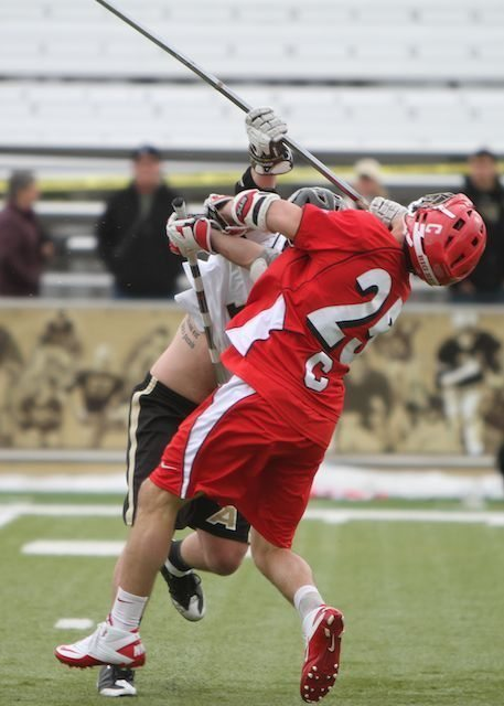 photo by Tommy. Gilligan/Lax.com Army Cornell