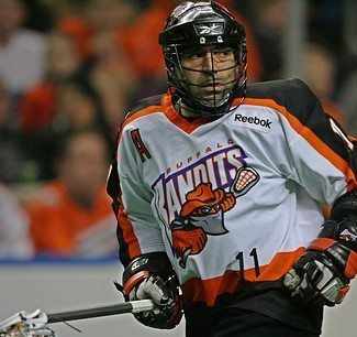 John Tavares Buffalo Bandits NLL box lacrosse lax