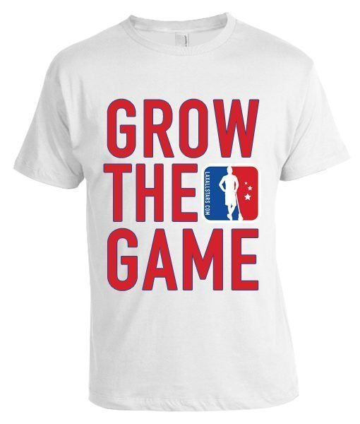 Lax All Stars Grow the Game t-shirt