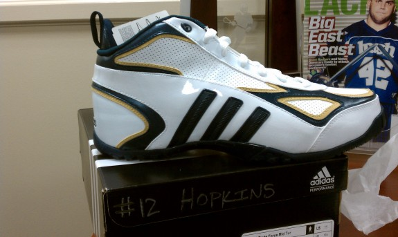 Notre Dame Lacrosse Adidas cleats