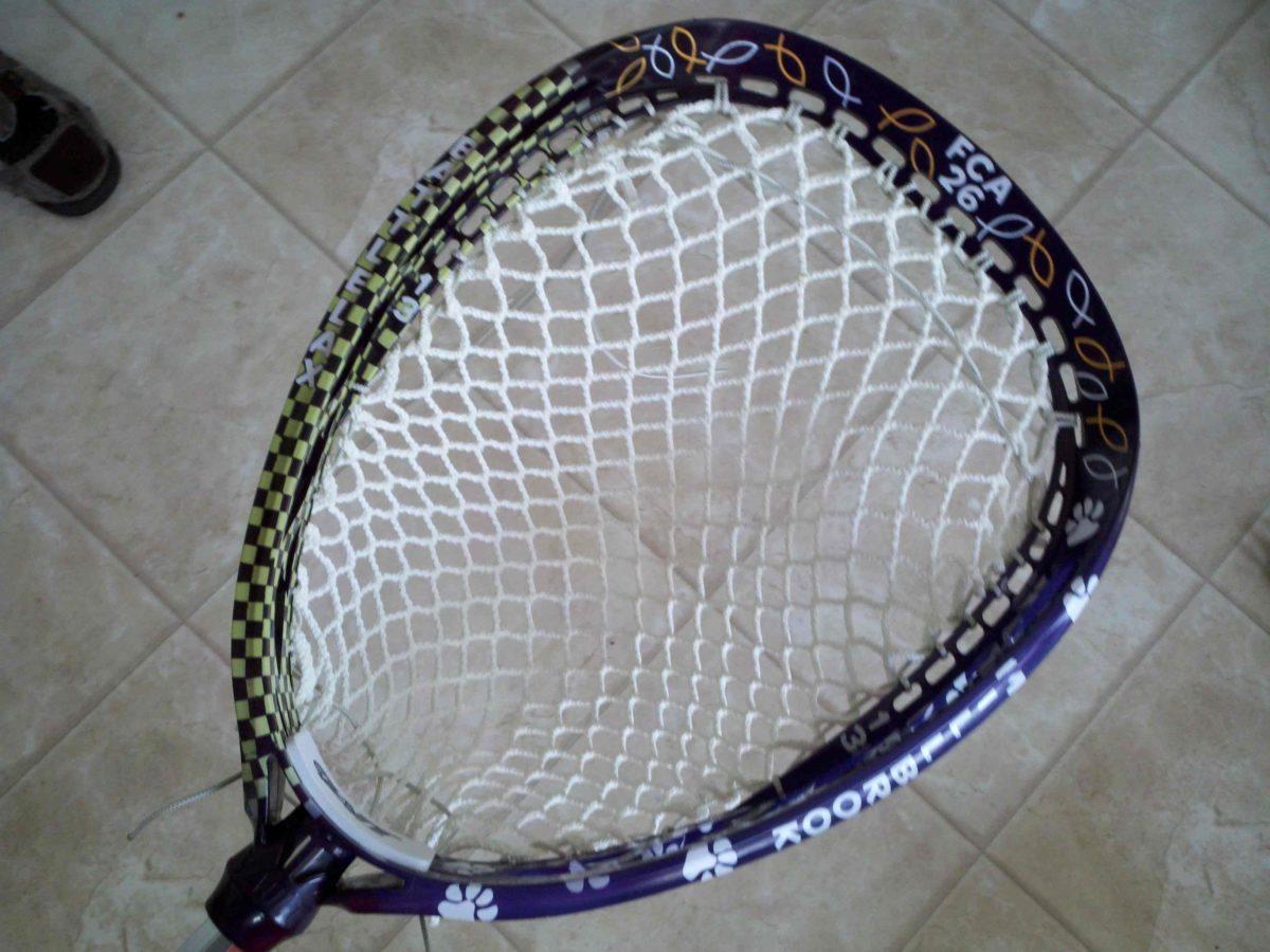 Michael Gialanella Lacrosse stick dye goalie