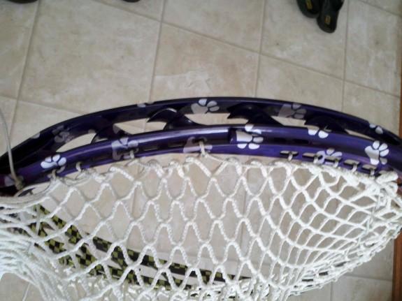Michael Gialanella Lacrosse stick dye job goalie lax