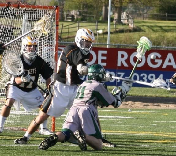 Kevin Seibert Biship Kelly Lacrosse 2011