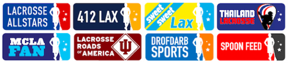 Lax All Stars Network Logos