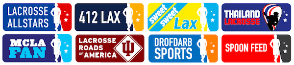 Lax All Stars Network Logos