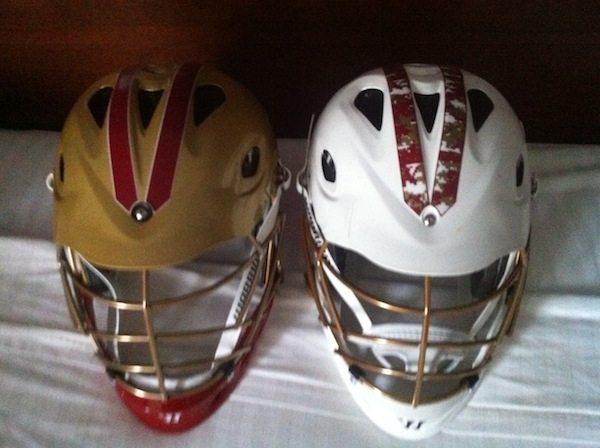 New Denver Pioneer Warrior Lacrosse Helmets