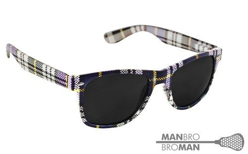 Man Bro Plaid Sunglasses