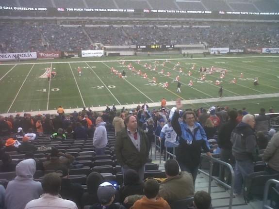 Big City Classic Lacrosse Syracuse Warming Up