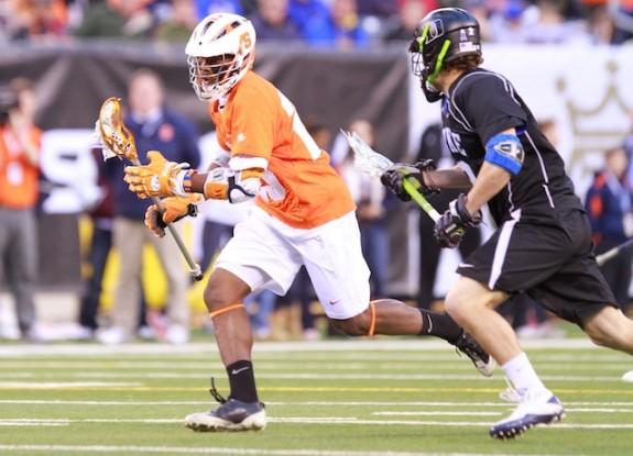 Cuse closes out Duke 13-11- 4