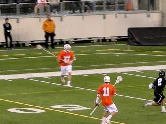 Big City Classic Hopkins UNC lacrosse Cuse warm up Duke