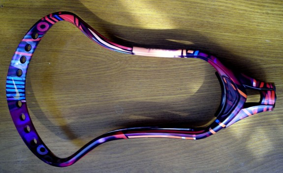 Nike CEO Lacrosse head dyed and mesh