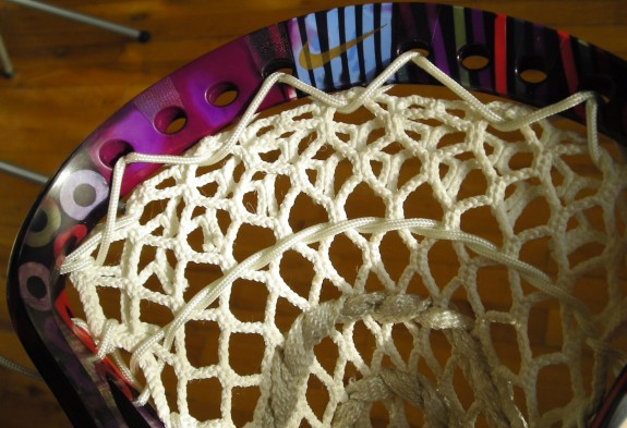 Nike CEO Lacrosse head dyed and meshNike CEO Lacrosse head dyed and mesh