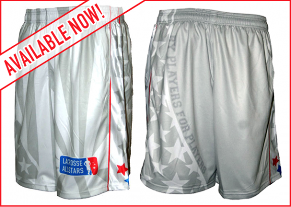Lax All Stars Apollo Creed Shorts