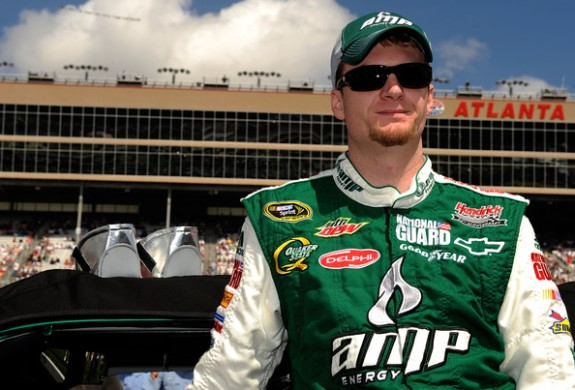 Dale Jr. looking sharp.