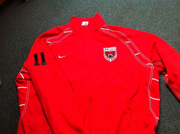 LC United box lacrosse pRague jersey sweater jacket Nike