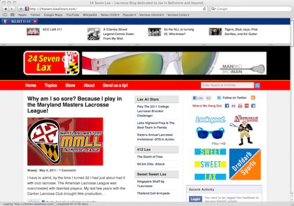 24 Seven Lax lacrosse blog