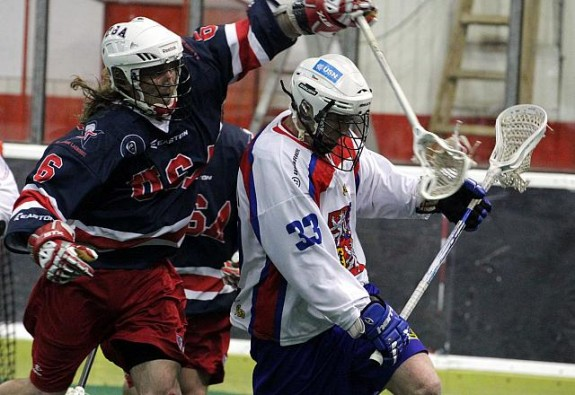 Brian Langtry Team USA indoor box lacrosse WILC 2011