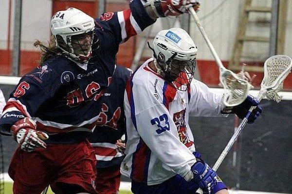 Brian Langtry Team US box lacrosse indoor box lacrosse WILC 2011
