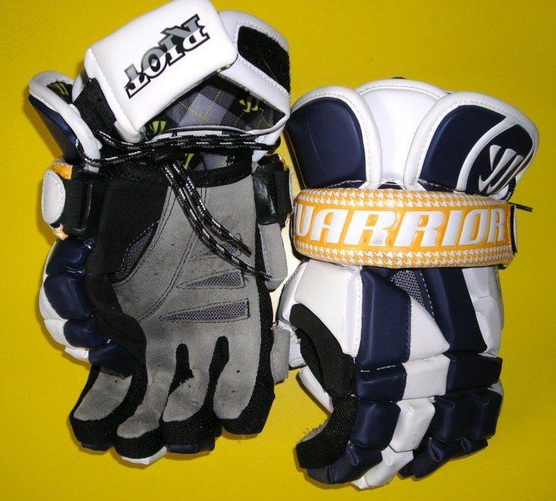 Warrior Riot Lacrosse gloves