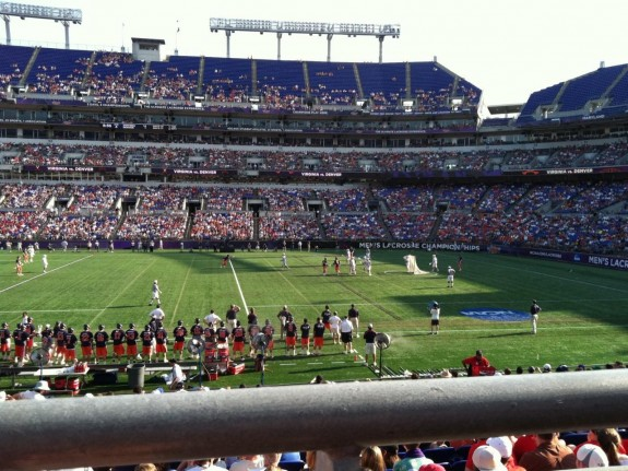 Baltimore Final Four Lacrosse Denver Virginia 2011