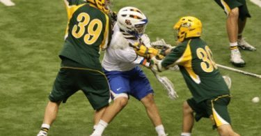 Jeremy Thompson Mesh Siena lacrosse ncaa 2011