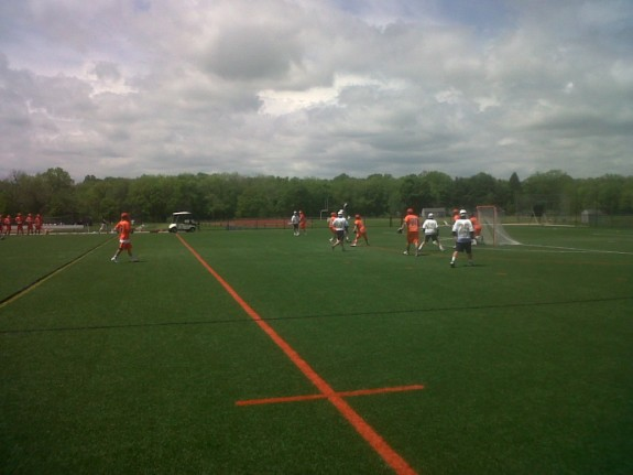 Suffield academy  vs the king school out of stamford, CT.