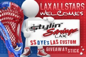Stylin Strings Custom Lax All Stars Dye Job CONTEST