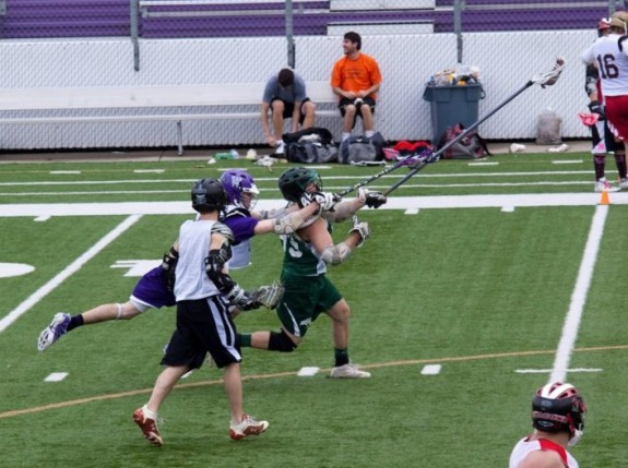 Staying onsides lacrosse penalty