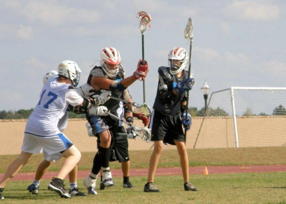 Break on through to the other side! Lacrosse